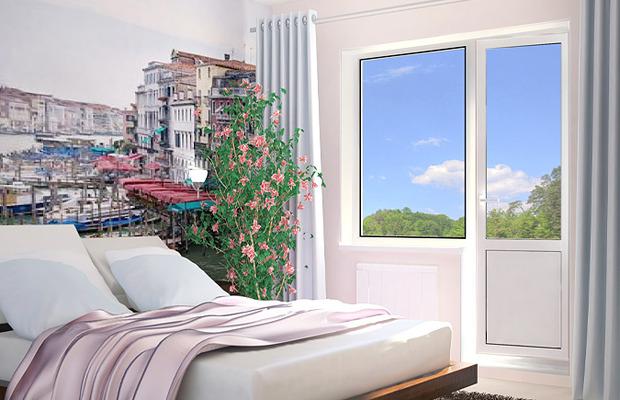 Балконы под ключ. балконный блок (2000х2100) - окна симфероп.