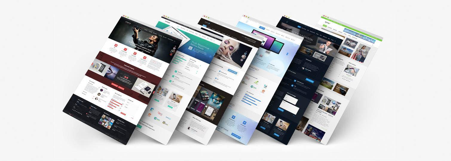 Создать дизайн на сайтах
